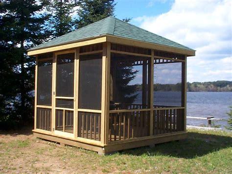 backyard builder wooden gazebo plans build the perfect gazebo my shed