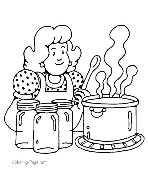 Cooking Coloring Pages To Download And Print For Free Cooking Coloring Pages