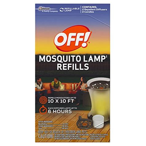 s c johnson wax 76086 mosquito l refill 2 pack