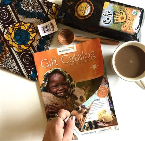 world vision coffee gift world vision gift catalog coffee giveaway style island