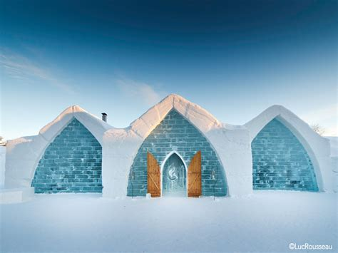 hotel de glace h 244 tel de glace theme attractions saint gabriel de