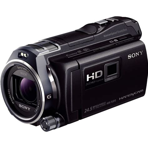 Sony Hdr sony hdr pj810e camcorders photopoint