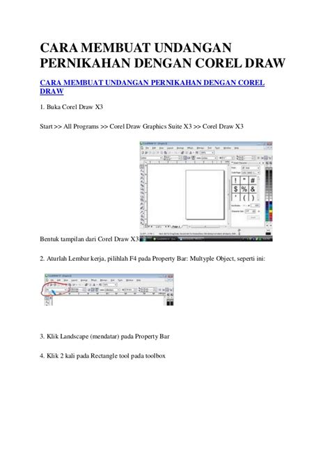 cara membuat surat undangan pernikahan dengan corel draw x5 undangan desain unik historical past undangan pernikahan