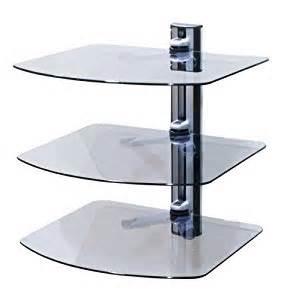 wall mounted shelves for electronics 3 shelf wall mount bracket with av shelving system