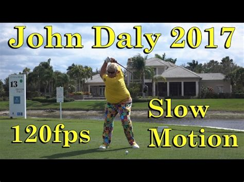john daly swing slow motion john daly 2017 winner of the insperity invitational doovi