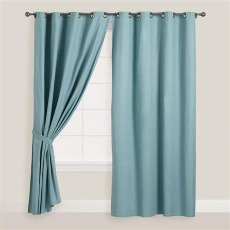 world market smocked curtains 1000 images about windows on pinterest grommet curtains