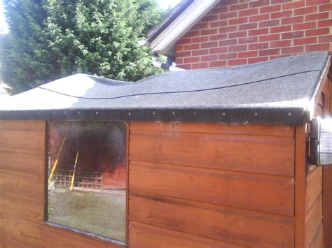 Felt On Shed Roof by Replacing Shed Roof Garages Sheds In Sittingbourne