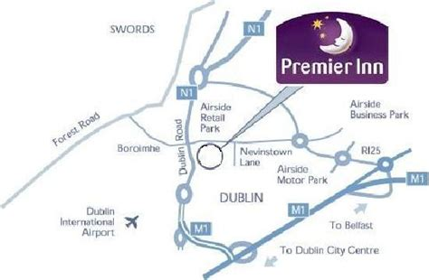 map of premier inn locations reception picture of premier inn dublin airport hotel