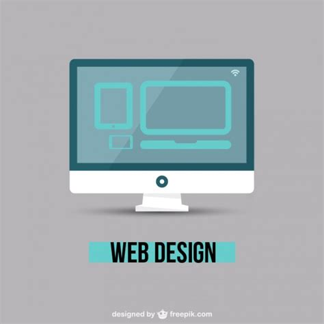 website layout vector free web design minimal vector free download