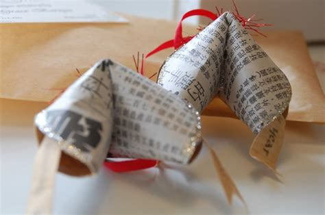 Handmade Fortune Cookies - handmade paper fortune cookies grace barzyz