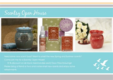 scentsy invitation templates scentsy open house invitations cards by pingg