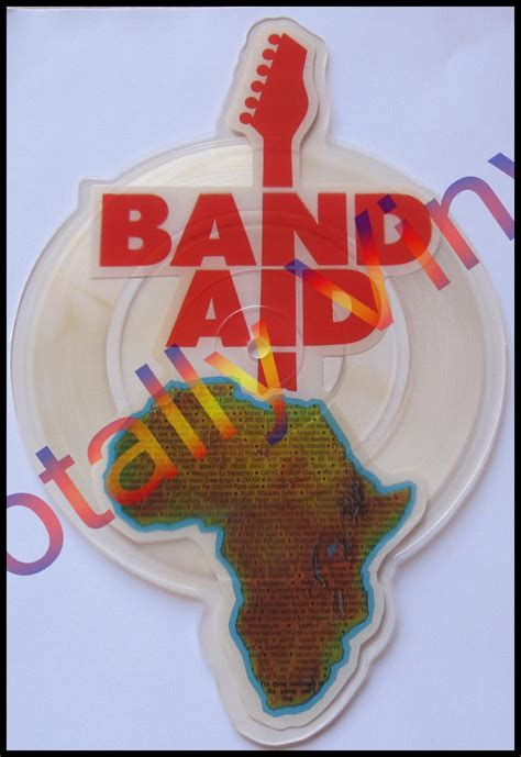 Band Aid Picture Disc