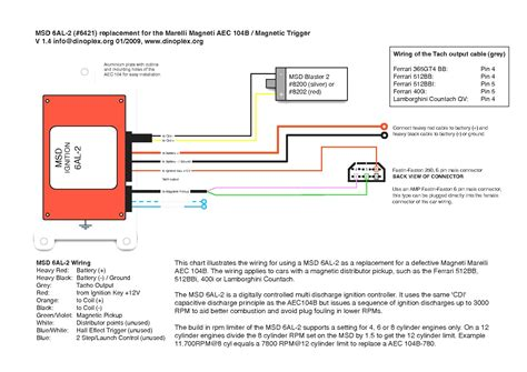 msd 6al 2 wiring diagram collection wiring diagram sle