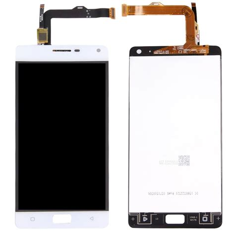 Lcd Touchscreen Lenovo P1 Original replacement lenovo vibe p1 p1c72 5 5 inch lcd screen touch screen digitizer assembly white