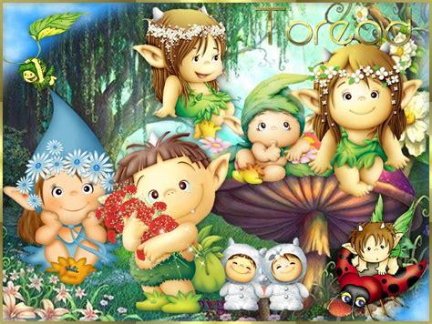 imagenes infantiles de hadas y duendes dibujos infantiles de hongos con duendes y hadas buscar