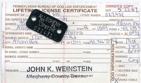 lifetime license pa license tokens and collars