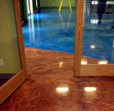 Acid Staining Concrete Installation   Concrete Acid