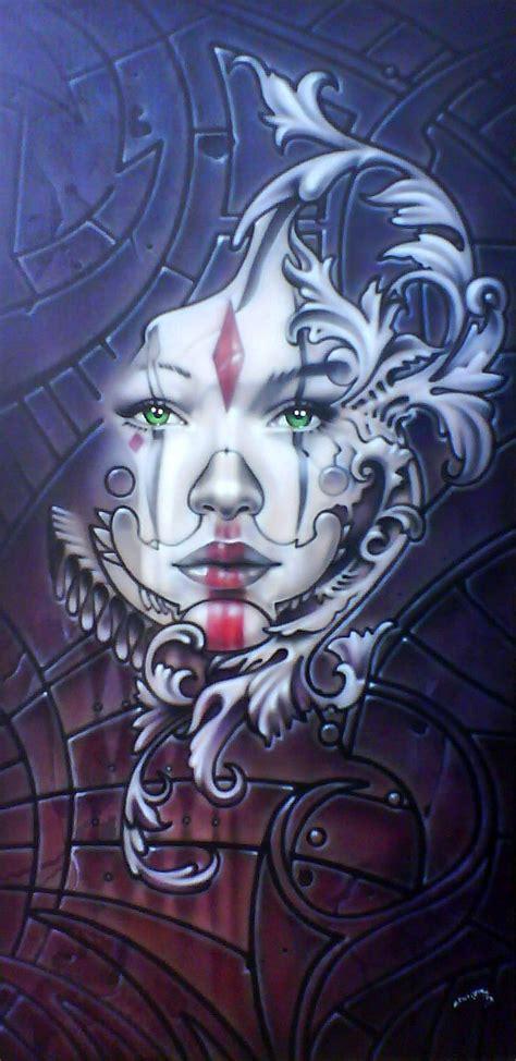 harlequin by linkerart on deviantart