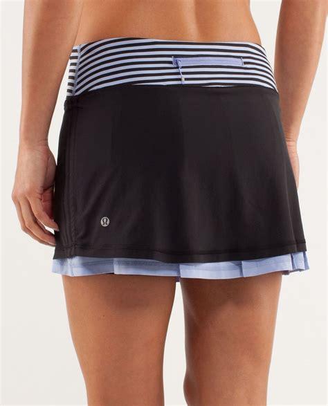 Essora Skirt Specs Original Sport Black New 1 lululemon run me skirt black polar lulu fanatics