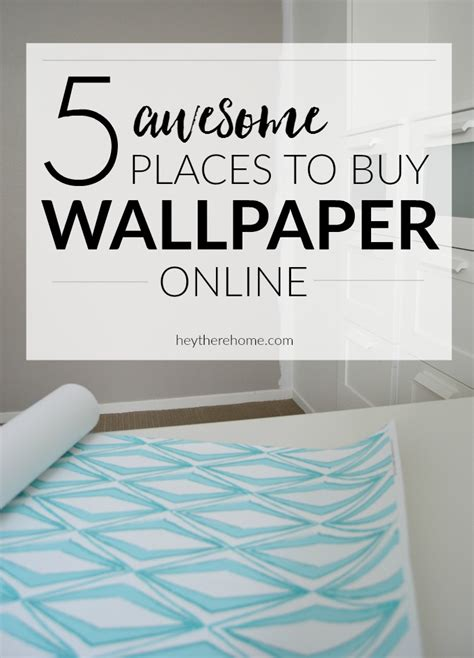 5 awesome place to buy wallpaper online