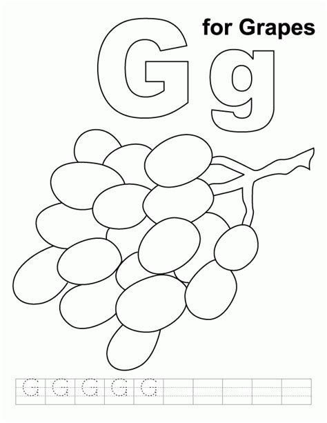 g coloring pages preschool letter g coloring pages preschool az coloring pages