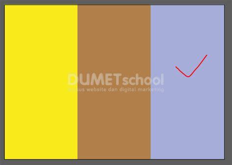 cara membuat warna coklat dengan warna dasar cara membuat brosur lipat 3 kursus desain grafis