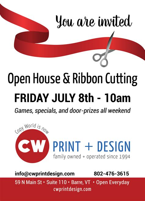 ribbon cutting template ribbon cutting friday july 8th 10am copy world cw
