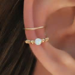 ear cuffs uk wrap cuff white opal ear cuff ear cuff