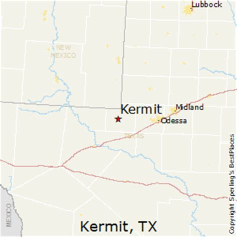 map of kermit texas best places to live in kermit texas