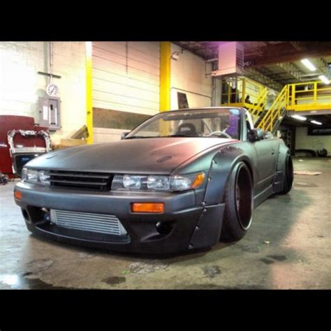 240sx rocket bunny convertible s13 drift car for sale