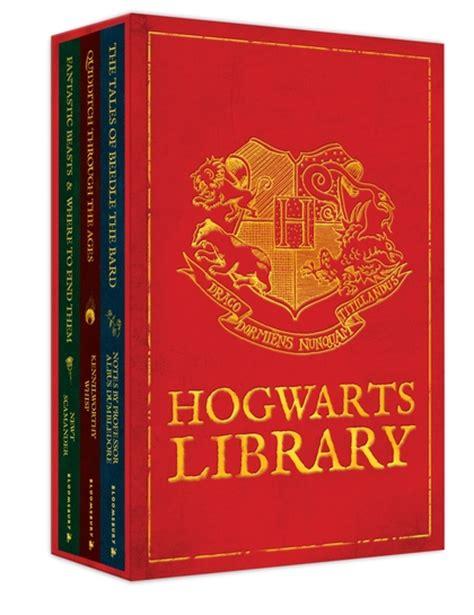 libro the hogwarts classics box bloomsbury hogwarts library boxed set