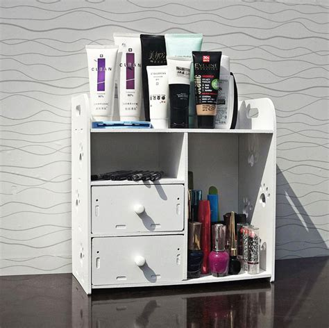 storage boxes for cosmetics receive ark of desk dresser
