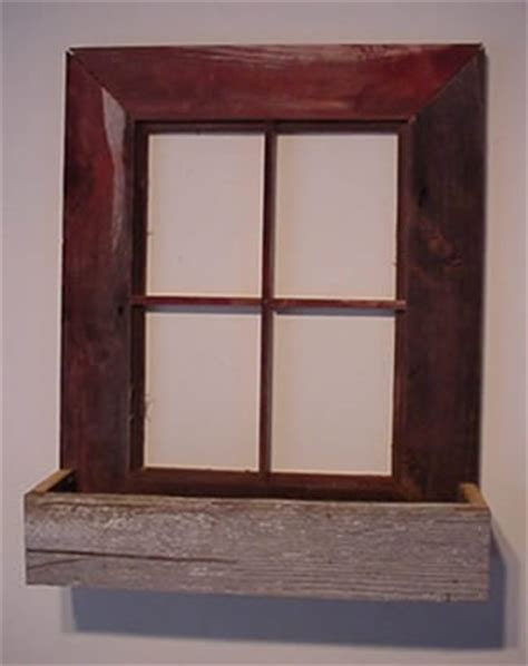 window box frame window frame planter box amish handmade with reclaimed