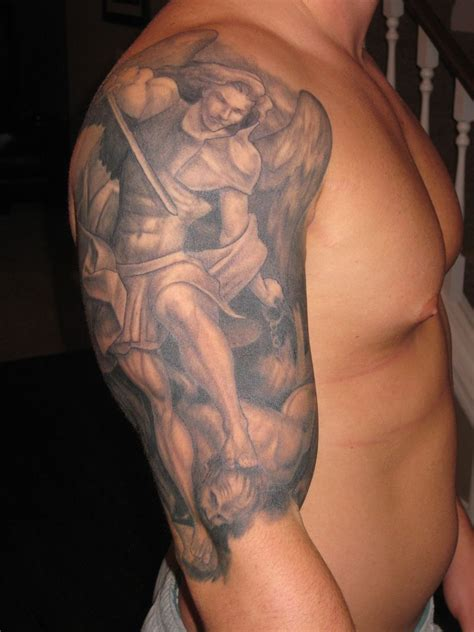 st michael the archangel tattoo 301 moved permanently