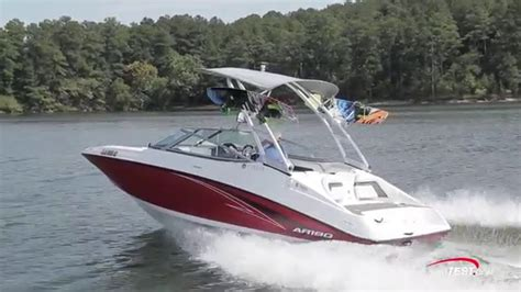 boat r videos yamaha ar190 2016 review video by boattest youtube