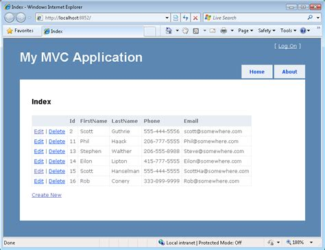 layout templates for asp net mvc iteration 2 make the application look nice vb the