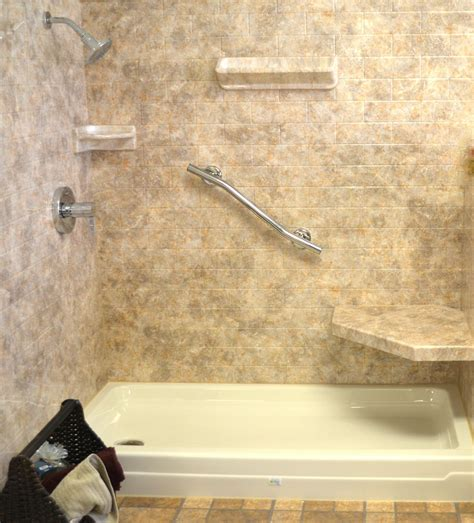 Bathroom Shower Wall Options Acrylic Shower Walls Vs Tile Shower Walls