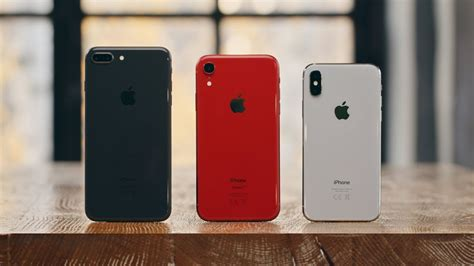 iphone x vs xr vs 8 plus что взять в 2018