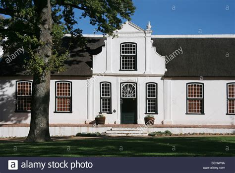 dutch style house typical white cape dutch style house of vineyard bosch en