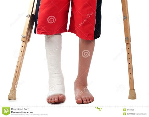 Leg Pain When Standing leg fracture royalty free stock images image 27563029