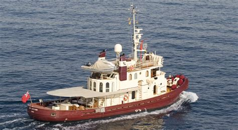 tugboat yacht conversion don giovanni converted tugboat luxury yacht for sale