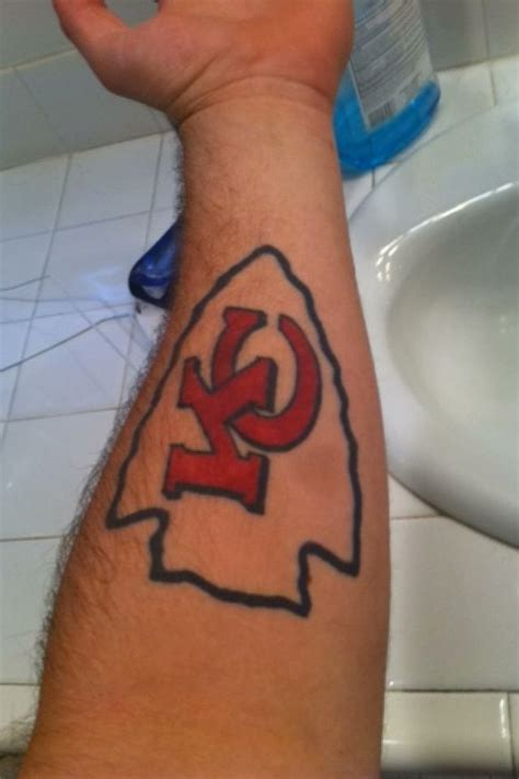 kc royals tattoos 27 best images about kansas city chiefs tattoos on