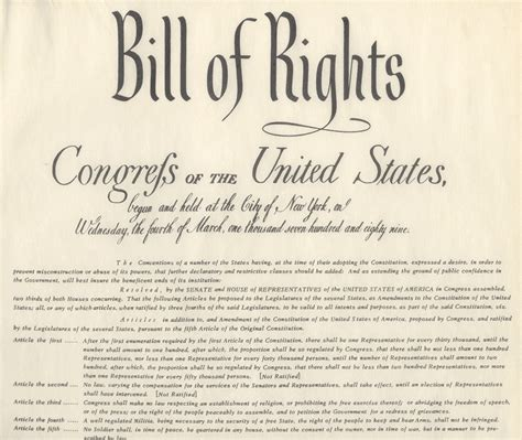 bill of rights section 21 historical minute how america became a great nation