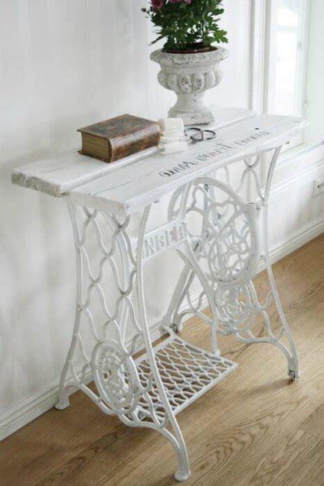 restaurar muebles antiguos maquina de coser singer en