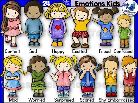 Set Shown Kid this set features with 12 different emotions as