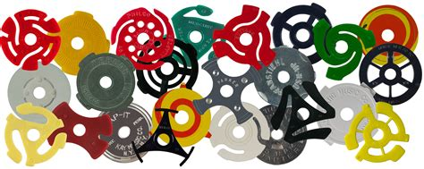 45 record centerpiece 45 record adapters you those quot plastic