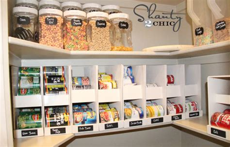Diy Kitchen Storage by Pantry Ideas Diy Canned Food Storage Shanty 2 Chic
