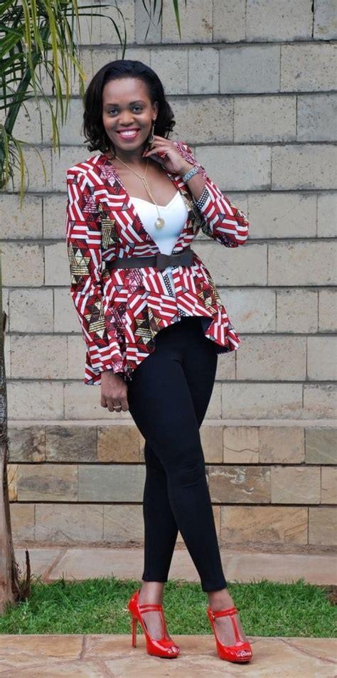 styles of ankara blazer beautiful ankara jacket outfit styles 2016 2017 fashionte