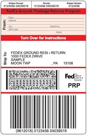 tracking number on fedex home label wroc?awski