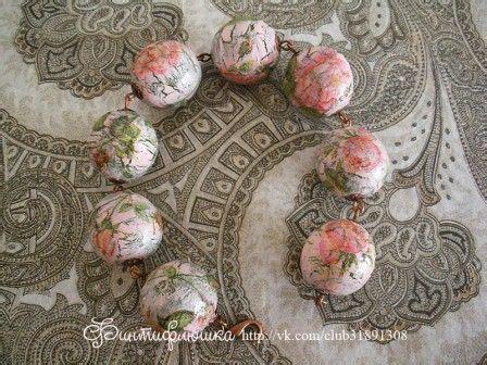 decoupage jewelry tutorial decoupage on wooden beads tutorial decoupage